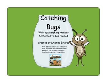 Counting Bugs: Matching Number Sentences to Ten Frames