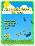 Counting Bugs! Number sense mini-book - Counting - Orderin