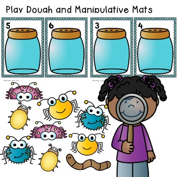 Counting Bugs: Preschool Math Centers