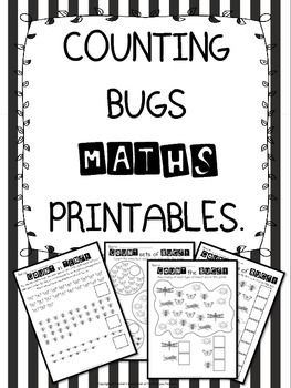 Counting Bugs Printables