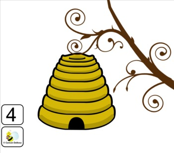 Interactive Counting Bumblebees Smart Notebook