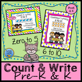 Counting Bundle: Counting to Five with 5 Frames & Counting