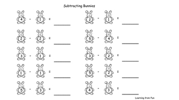Counting Bunnies within 5