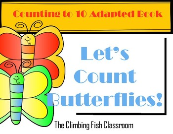Counting Butterflies Adapted Book