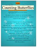 Counting Butterflies Math Pre-K