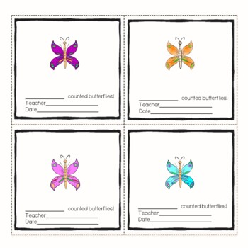 Butterflies, Numbers, Die Match and Games