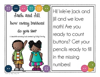 Counting Buttons with Jack & Jill Decodable Book