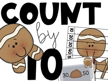 Counting By 10 (Gingerbread Bakery Math Station)