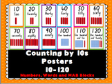 Counting By 10s Display Posters (10-120)