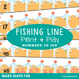 Counting By 2s Activity Cards - Fishing Line