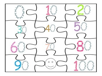 Counting By Tens 12-Piece Puzzle