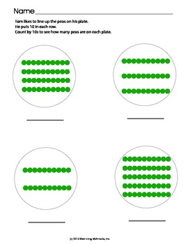Counting By Tens Aligned to CCSS K.CC.A.1