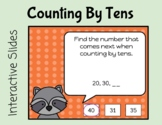 Counting By Tens Interactive Slides