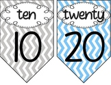 Counting By Tens Mini Posters