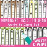 Counting By Tens Off the Decade Activity Cards Pack