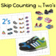 Skip Counting Counting By Two's