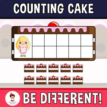 Counting Cake Clipart