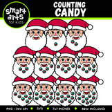 Counting Candy Clip Art
