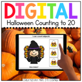 Counting Candy Corn 0 to 20 Digital Activity   Distance Learning