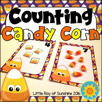 Counting Halloween Candy Corn
