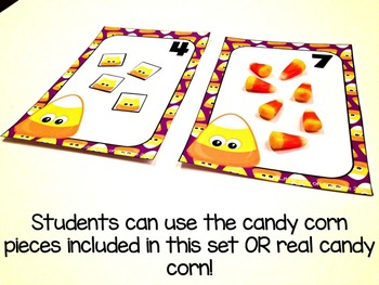 Halloween Counting Candy Corn