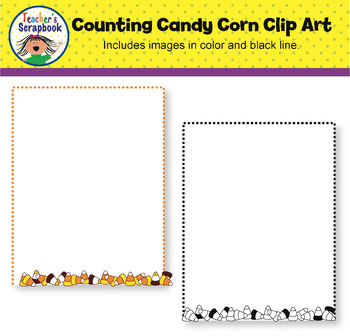 Counting Candy Corn Clip Art