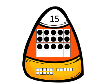 Candy Corn Number Matching