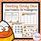 Counting Candy Corn: Word Problems for Kindergarten
