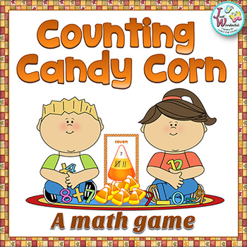 Fall Math Game Counting Candy Corn