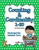 CCSS Kindergarten.CC: Counting & Cardinality 1-20