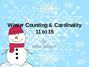 Counting & Cardinality 11-15