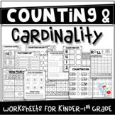 Counting & Cardinality Worksheets