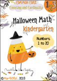 Counting & Cardinality for Kindergarten. HALLOWEEN