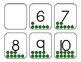 Counting Cards 0-10- Green
