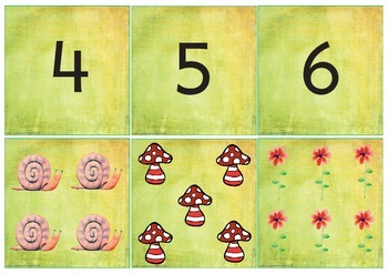 Counting Cards 1 - 10