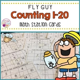 Counting Cards 1-20 (Fly Guy Themed)