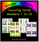Counting Cards 1 to 10