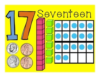 Math Counting Posters