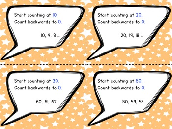 Counting Cards Math Center