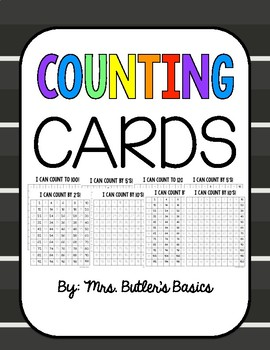 Counting Cards- Skip Counting