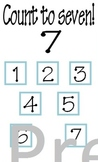 Counting Cards for Early School Skill Reinforcement (1-10)