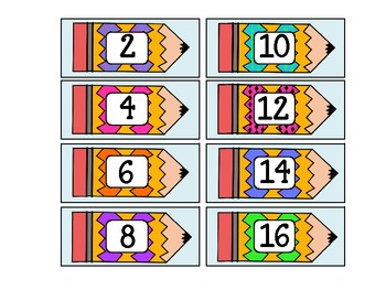 Counting Cards to 120 {freebie}