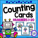 Counting Cards with Ten Frames and Tally Marks - Robots