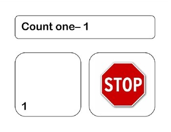 "Counting Cards with Visual ""Stop"""