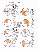 Counting Carrots first and second grade Fractions Poster
