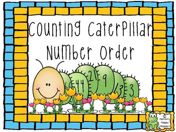Counting Caterpillars Number Order