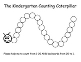 Counting Caterpillar Numbers 1 - 20