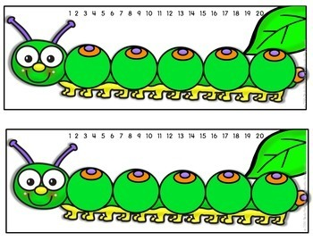 Counting Sequence - Ordering of Numbers {Caterpillar Order}