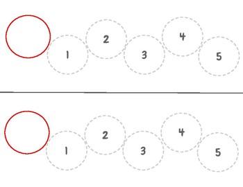 Counting Caterpillar activity