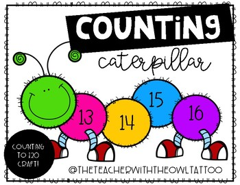 Counting Caterpillar (counting to 120)